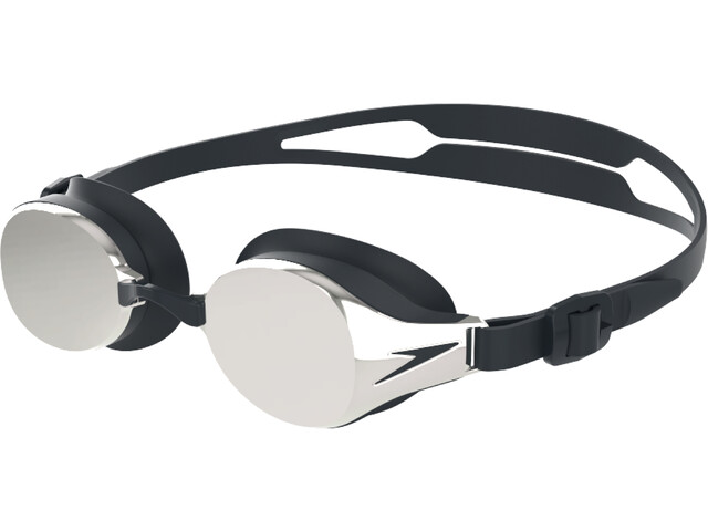 speedo Hydropure Mirror Lunettes de protection, black/chrome